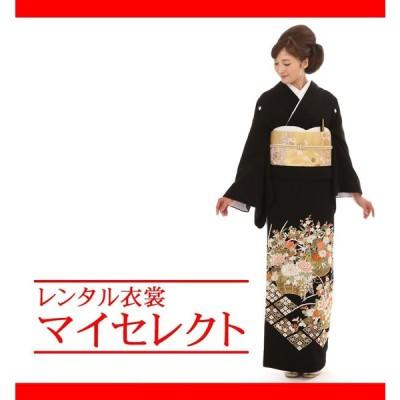 留袖レンタル 高級 mito_175 N-139 花籠 総刺繍