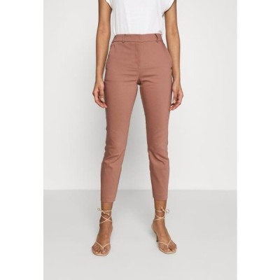 フォーエバーニュー レディース ファッション GRACE PANTS - Trousers - dark rose