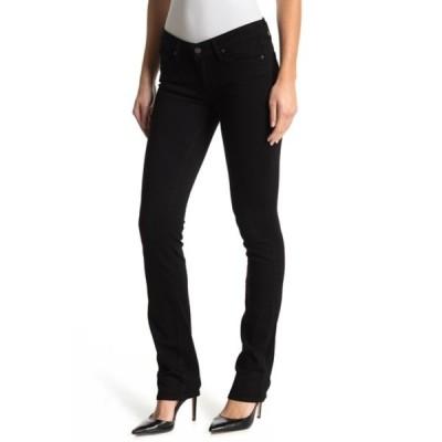 ペイジ レディース デニムパンツ ボトムス Transcend Skyline Straight Leg Jeans BLK SHADOW