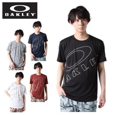 オークリー Tシャツ 半袖 メンズ EN QD BOLD機能Tシャツ FOA402938 OAKLEY