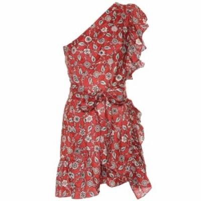イザベル マラン Isabel Marant. Etoile レディース ワンピース ワンショルダー ワンピース・ドレス Teller one-shoulder linen dress Ru