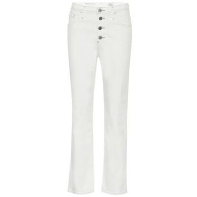 エージージーンズ AG Jeans レディース ジーンズ・デニム ボトムス・パンツ Isabelle high-rise straight jeans Modern White