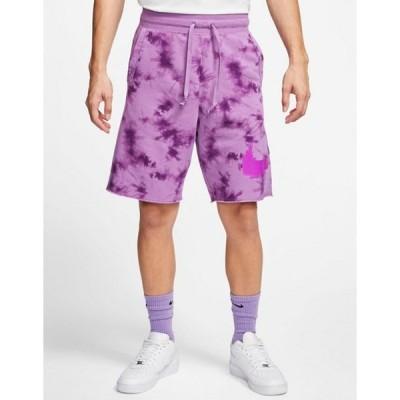 ナイキ メンズ ハーフパンツ・ショーツ ボトムス Nike festival shorts in purple tie dye
