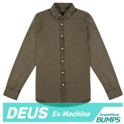 DEUS デウス エクスマキナ  無地シャツ  長袖  メンズ  XS〜XXL  トップス  デウス 新作