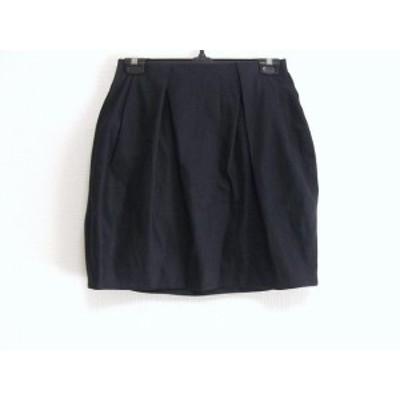 ドロシーズ DRWCYS スカート サイズ0 XS レディース 黒 NUMBER STANDARD【中古】
