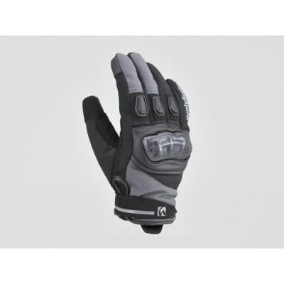 DAYTONA (デイトナ) バイク用 ライディンググローブ HBG-047 AW防水カーボンプロテクターグローブ グレー XLサイズ 99870
