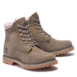 Timberland 女款卡其綠磨砂革6吋靴A2GN2901
