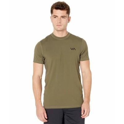 ルーカ シャツ トップス メンズ VA Sport Vent Short Sleeve Top Olive