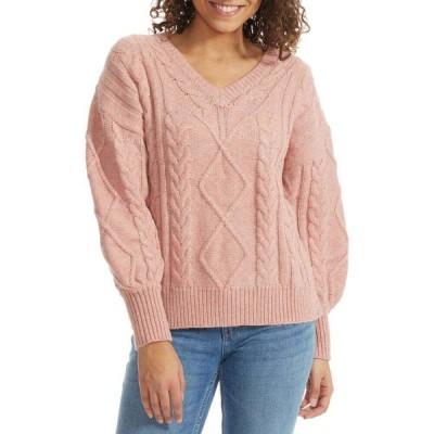 リズム Rhythm レディース ニット・セーター トップス Meadow Sweater Rose