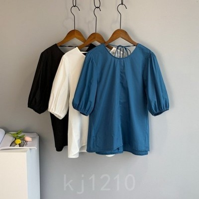 TシャツカットソートップスレディースTシャツ半袖Tシャツクルーネック夏カジュアルおしゃれTシャツ無地