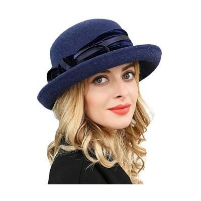 FADVES HAT レディース US サイズ: Large カラー: ブルー