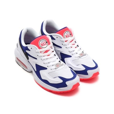 NIKE AIR MAX2 LIGHT WHITE/BLACK-ULTRAMARINE-SLR  AO1741-104 ナイキ  エアマックス 2 ライト
