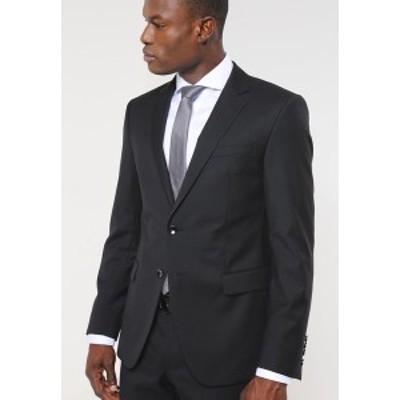 ジョープ メンズ ジャケット&ブルゾン アウター HERBY - Suit jacket - black black