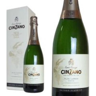 チンザノ 260周年アニバーサリー アルタランガ ブリュット ミレジマート 2013年 750ml 箱入り 正規 (イタリア スパークリングワイン 白)