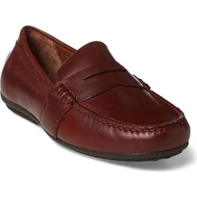 【残り1点!】【サイズ:26.5cm】ラルフ ローレン Ralph Lauren メンズ シューズ・靴 ドライビングシューズ Reynold Driving Shoe Deep Saddle Tan Leather