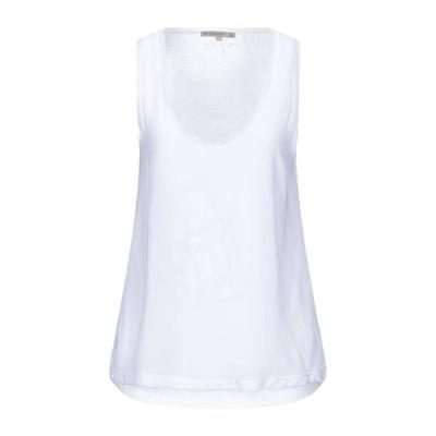 PATRIZIA PEPE トップス  レディースファッション  トップス  Tシャツ、カットソー  半袖 ホワイト
