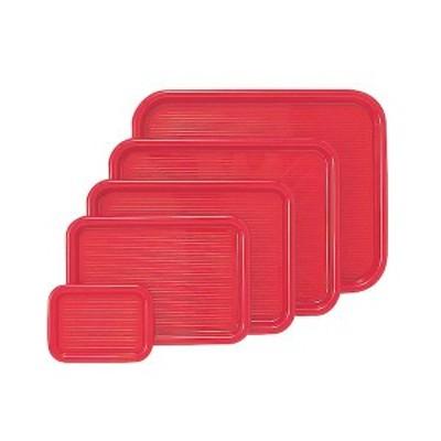 4954267010080 曙産業 MT-008 マジックトレー 角型 10インチ 小 赤 PP袋入