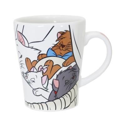 おしゃれキャット マリー グッズ マグカップ 陶器製 マグ アートオブアニメーション ディズニー キャラクター 三郷陶器