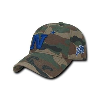 ユニセックス スポーツリーグ アメリカ大学スポーツ NCAA United States Naval Academy Relaxed Camo Camouflage Baseball Caps Hats