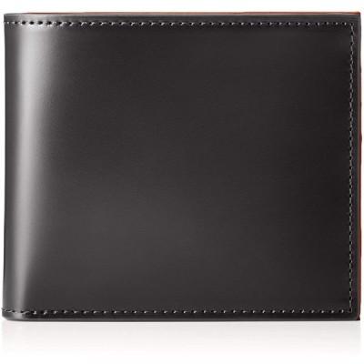 [プレリー] 二つ折り財布(小銭入れなし) コードバン プレリー1957 クロ