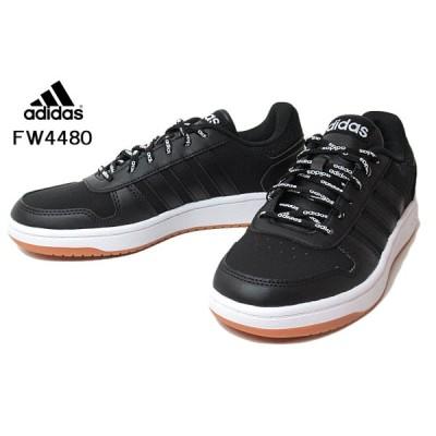アディダス adidas FW4480 ADIHOOPS 2.0 U  バスケットボールスタイル コアブラック メンズ レディース 靴