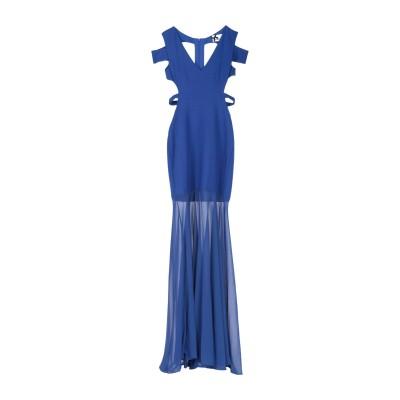 NO SECRETS ロングワンピース&ドレス ブライトブルー 42 ポリエステル 95% / ポリウレタン 5% ロングワンピース&ドレス