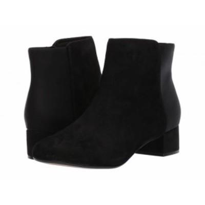 Clarks クラークス レディース 女性用 シューズ 靴 ブーツ アンクル ショートブーツ Chartli Valley Black Combo Suede【送料無料】