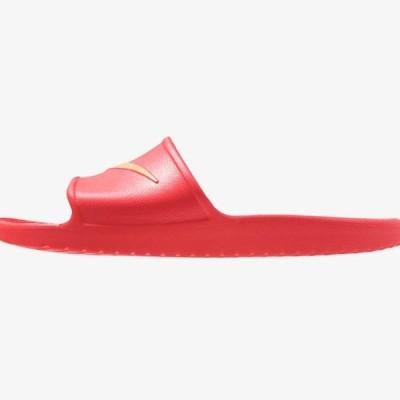 ナイキ メンズ 靴 シューズ KAWA SHOWER - Pool slides - university red/metallic gold