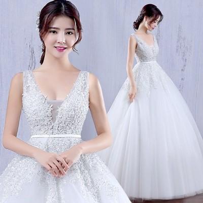 ウエディングドレス エンパイア 安い 花嫁 二次会 ウェディングドレス 結婚式 マタニティドレス 披露宴 ブライダル ロングドレス シンプル 白 wedding dress
