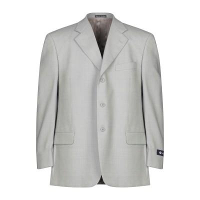 FACIS テーラードジャケット グレー 54 バージンウール 100% テーラードジャケット