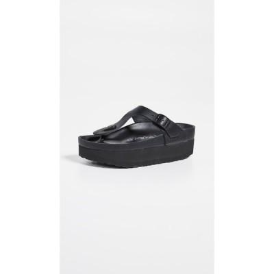 ビルケンシュトック Birkenstock レディース サンダル・ミュール シューズ・靴 Gizeh Platform Exquisite Sandals Black