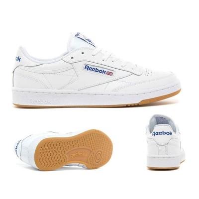 リーボック メンズ スニーカー シューズ・靴 Club C 85 Trainer White / Gum
