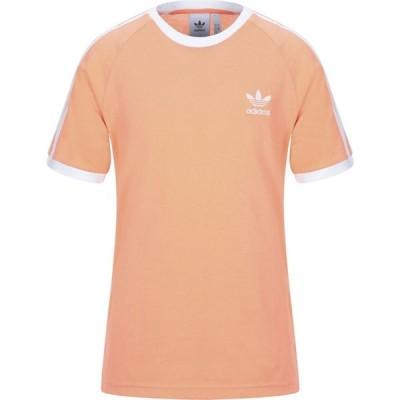 アディダス ADIDAS ORIGINALS メンズ Tシャツ トップス T-Shirt Salmon pink