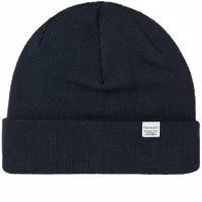 Norse Projects メンズ帽子 Norse Projects Top Beanie Dark Navy
