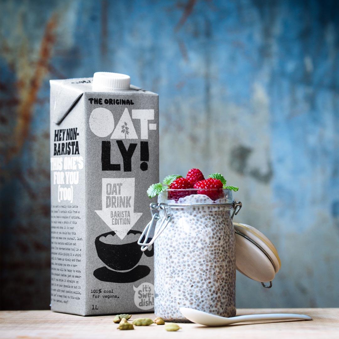 [瑞典 Oatly] 咖啡師燕麥奶 (1000ml/瓶) (全素)