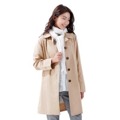 撥水ステンカラーコート コート・ステインカラーコート 雨・雨対策 蒸れない 快適 持ち運び・コンパクト ポーチ付き 撥水加工 汚れない