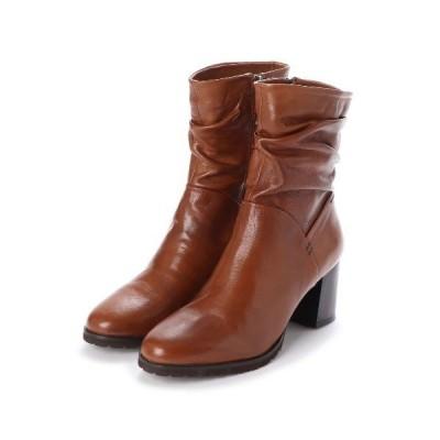 ブーツ CINZIA / ICB 113 / シャーリングミドルブーツ