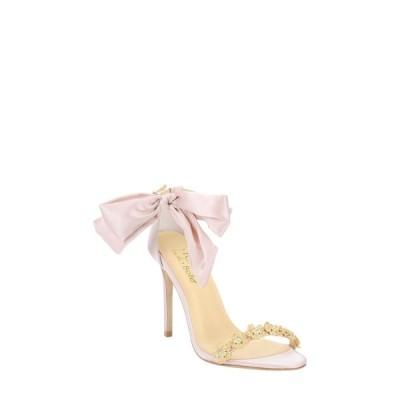 ベラベル BELLA BELLE レディース サンダル・ミュール シューズ・靴 Mariee Embellished Sandal Blush Silk