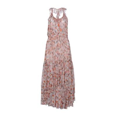 ピンコ PINKO 7分丈ワンピース・ドレス ライトピンク 44 100% シルク 7分丈ワンピース・ドレス