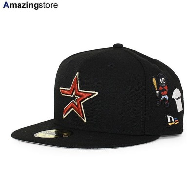 【MLBコラボ】 ニューエラ 59FIFTY ジョーフレッシュグッズ ヒューストン アストロズ 【COLLABO FITTED CAP/BLACK】 NEW ERA JOE FRESHGOODS HOUSTON ASTROS