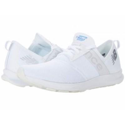 New Balance ニューバランス レディース 女性用 シューズ 靴 スニーカー 運動靴 NB Nergize White/Iridescent【送料無料】