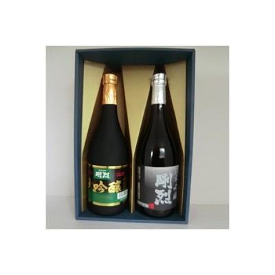 ふるさと納税 常陸太田市 清酒 大吟醸 剛烈・純米吟醸 剛烈 各720ml×1本セット