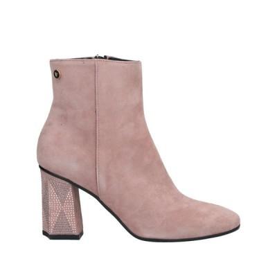 LORETTA PETTINARI ショートブーツ ファッション  レディースファッション  レディースシューズ  ブーツ  その他ブーツ パステルピンク