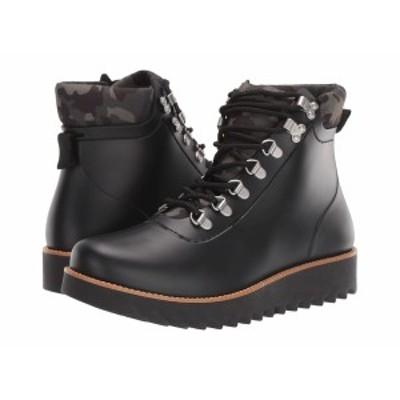 ベルナルド レディース ブーツ&レインブーツ シューズ Winnie Rain Boot Black Rubber Camo