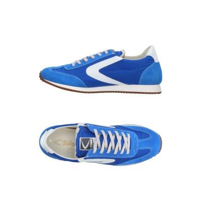 VALSPORT スニーカー&テニスシューズ(ローカット) ブライトブルー 40 紡績繊維 / 革 スニーカー&テニスシューズ(ローカット)