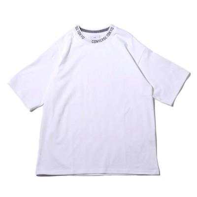 コンバース トーキョー CONVERSE TOKYO CONVERSE TOKYO ロゴ襟 Tシャツ (WHITE)