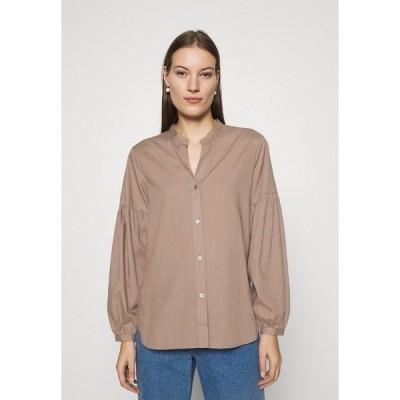 アーケット シャツ レディース トップス BLOUSE - Button-down blouse - taupe