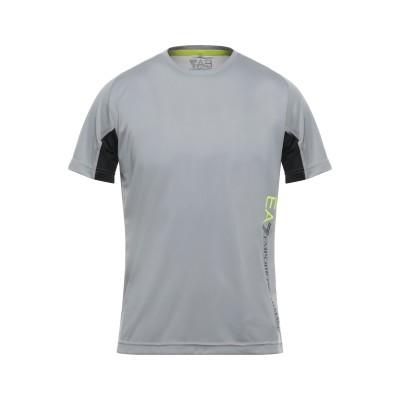 EA7 T シャツ ライトグレー S ポリエステル 100% / ポリウレタン T シャツ