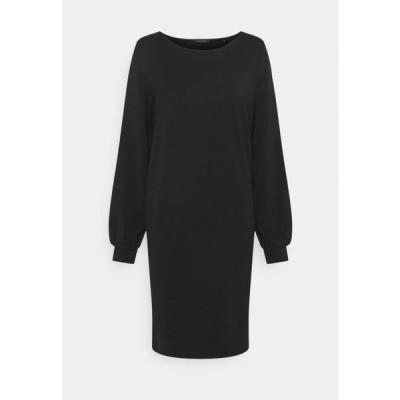 マルコポーロ レディース ドレス DRESS SHIRT BODY VOLUME SLEEVE - Day dress - black