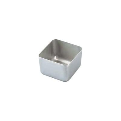 アルマイト 検食容器(角型)用 中容器 小 50×50×35
